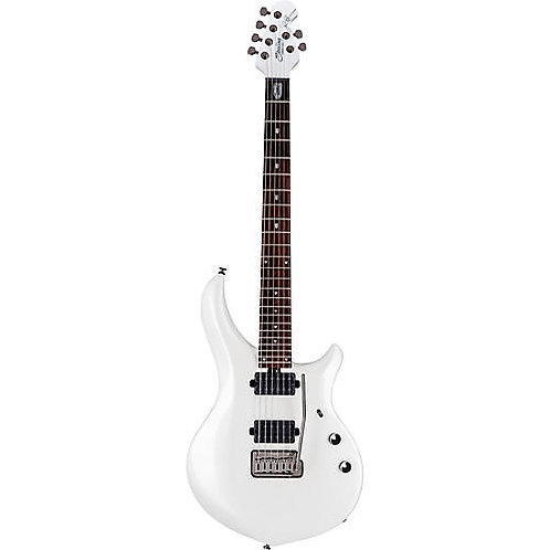 Sterling by Music Man John Petrucci Majesty Electric Guitar  Pearl White