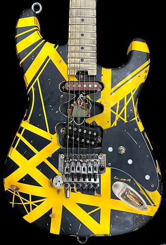 Frankenbee Bumblestein mod on a EVH striped series B/Y