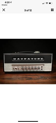 Magnatone Super Fifty-Nine M-80