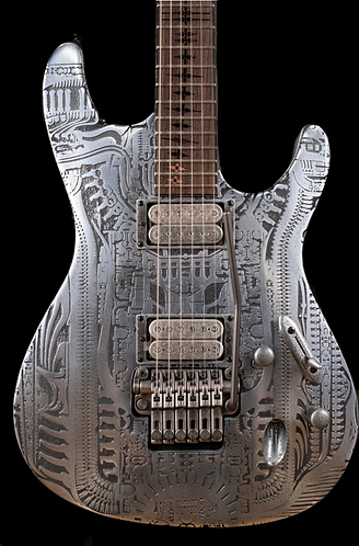 Ibanez SHRG1Z 2007 H.R. Giger limited edition, one of 185 made
