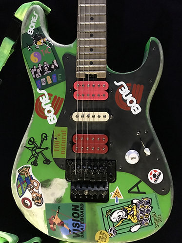 Charvel So Cal with full Green Meany Modification.
