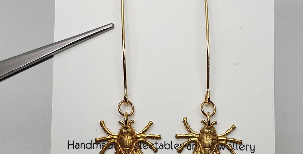 Flies on arcs - Brass & Stainless Steel