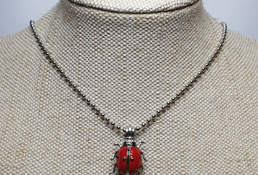 Ladybird Necklace Aroma Diffuser