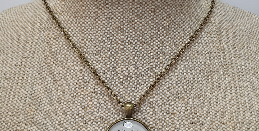 Bee Kind Necklace - Bronze
