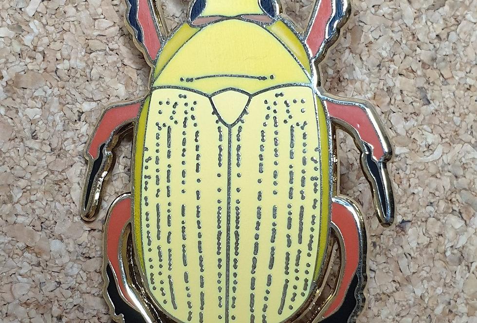 Christmas Beetle Brooch