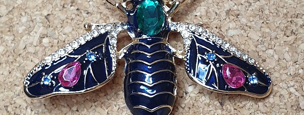 Soldier Fly Brooch
