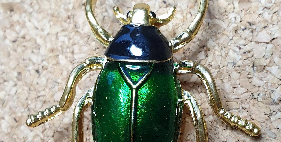 June Beetle Brooch