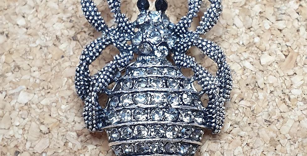 Spider Brooch - Small Light
