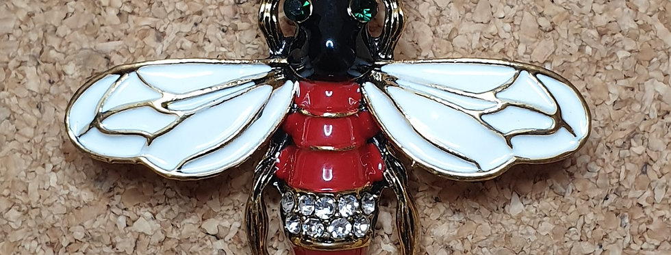 Sawfly Brooch