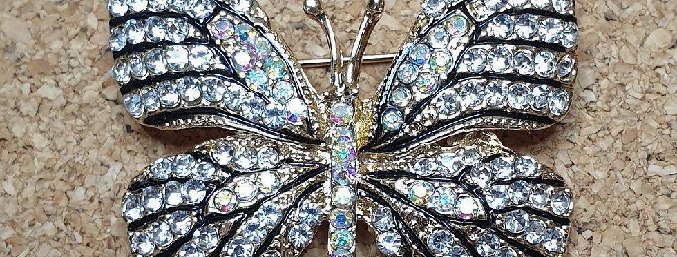 Butterfly Brooch - Bright