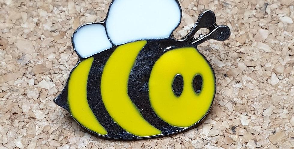 Bee Brooch - Cartoon Medium