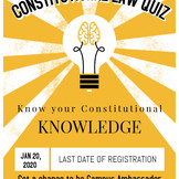 Online Quiz Competition on Constitutional Law by Lex Repository: Register by Jan 20