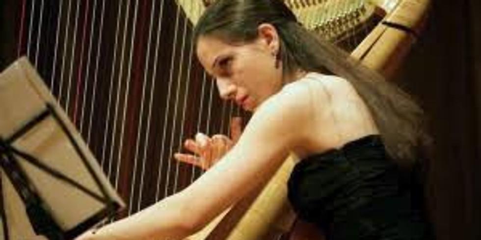 5 pièces pour harpe, Constance Luzzati, Le Mans