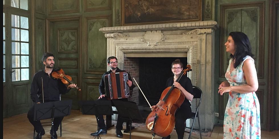 TRIO LUBIN : Trio avec accordéon, Lieder de Schubert