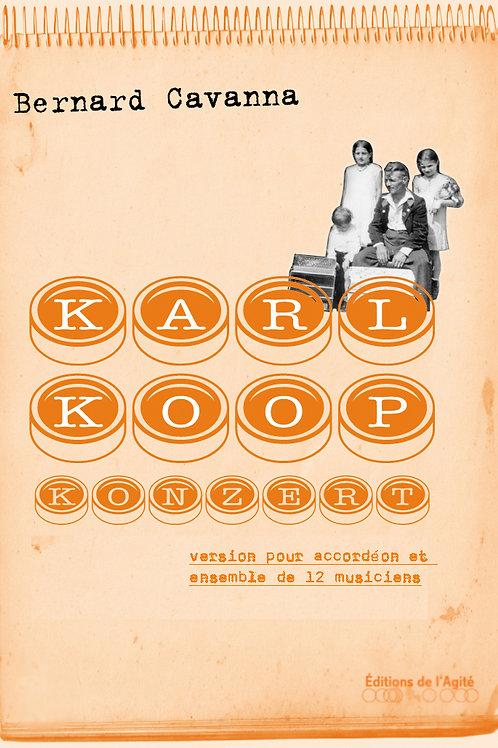 Karl Koop Konzert, version de chambre