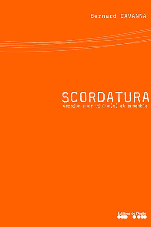 Scordatura version ensemble