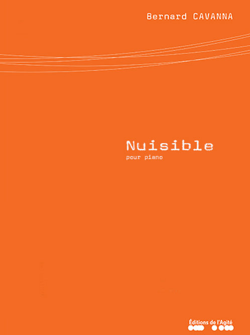 Nuisible (pour piano)