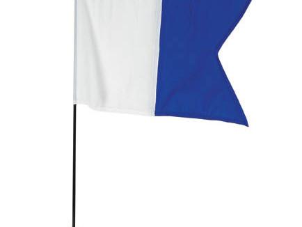 """Safety - """"Diver Below"""" flag"""