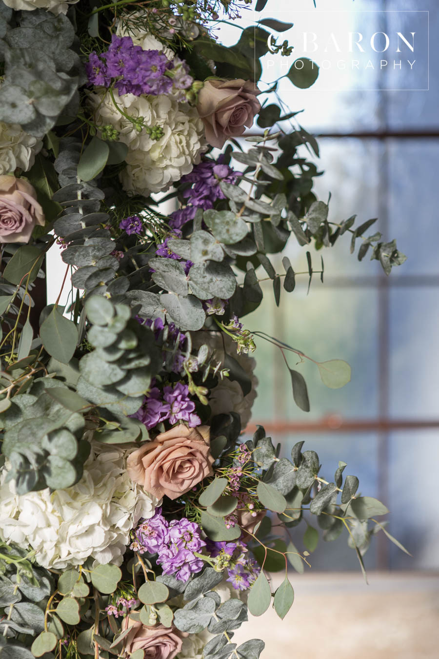 Vintage Lavender Ceremony Flowers