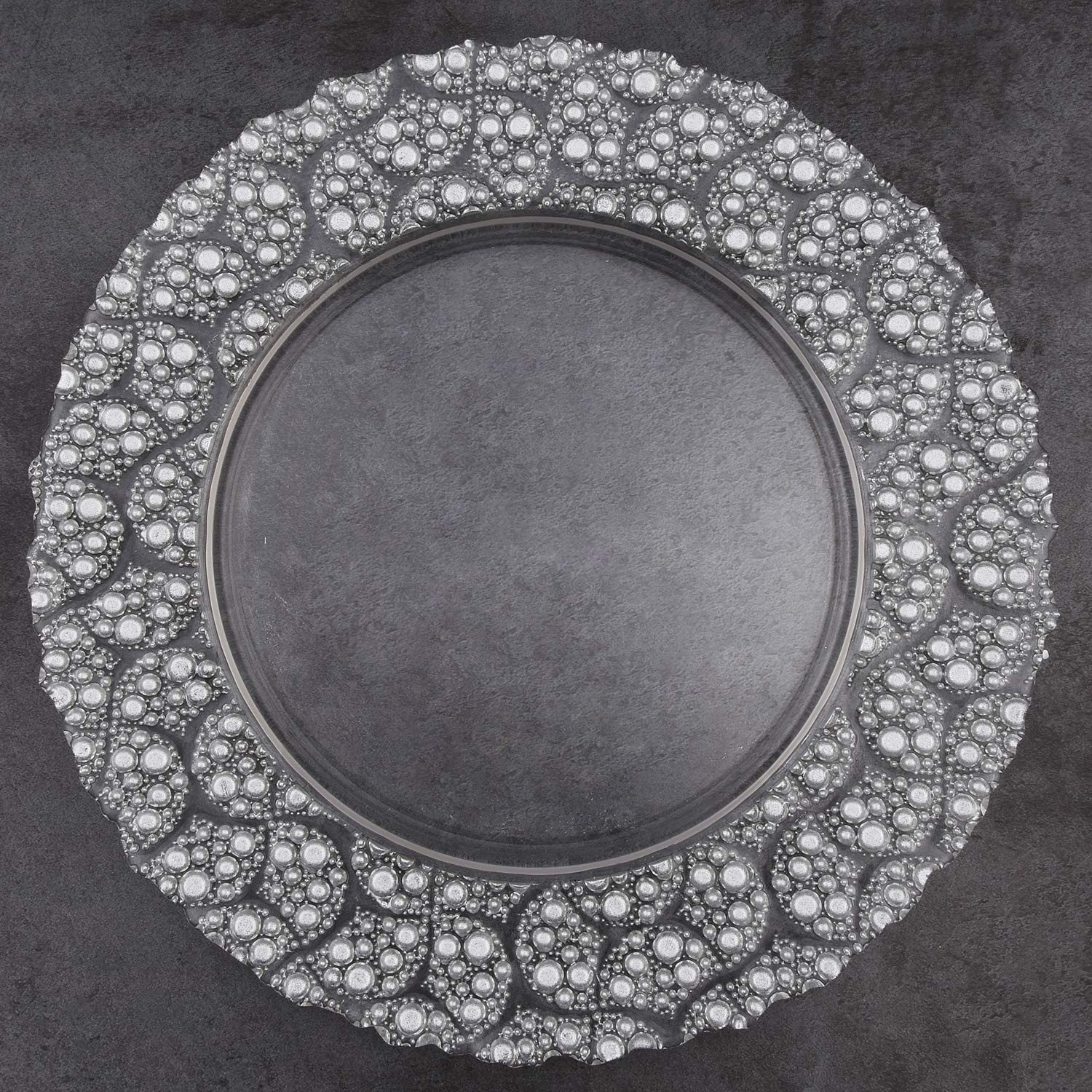 Pearl Glass Charger