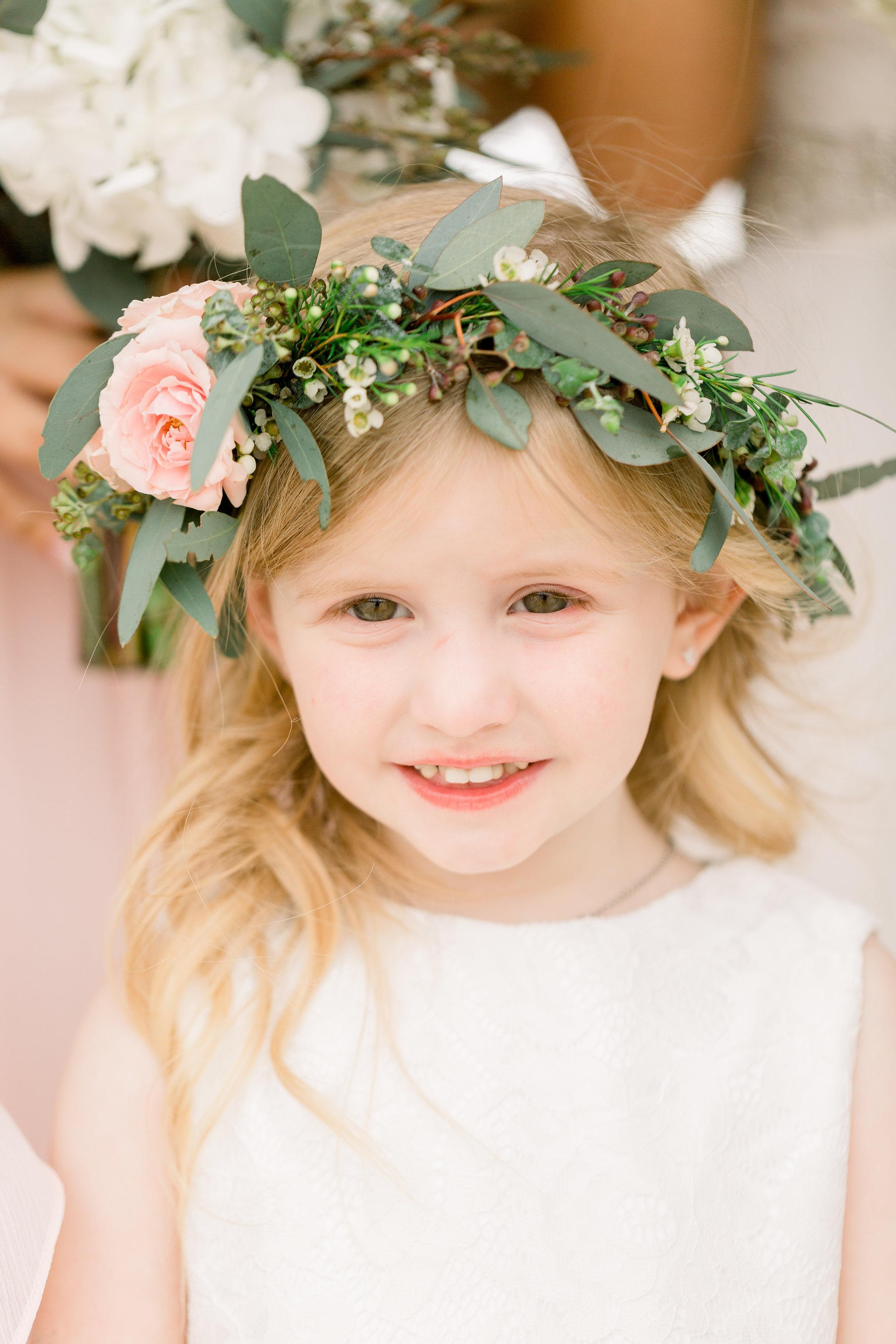 Flower Girl Hair Flowers