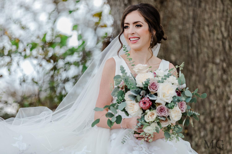 Mauve Tone Bridal Bouquet