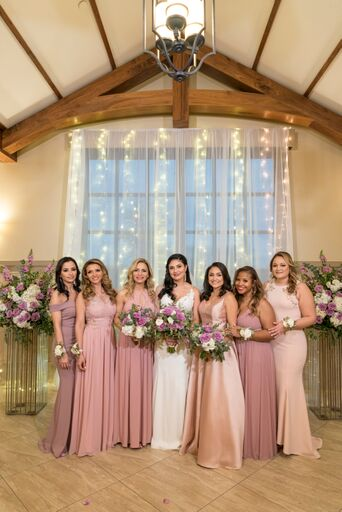 Mauve & Lavender Wedding Floral