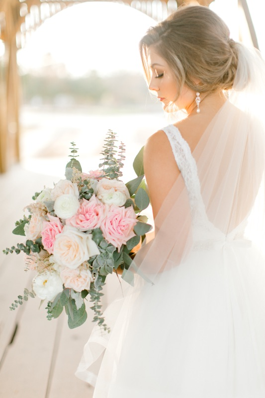 Pink, Blush and White Bridal Bouquet