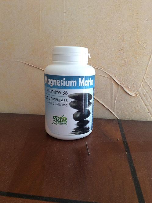 MAGNESIUM MARIN + VITAMINE B6  200 CPS