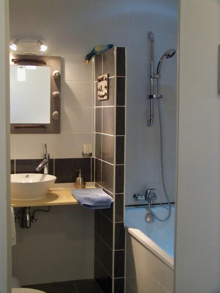 Salle de Bain baignoire Bleuet