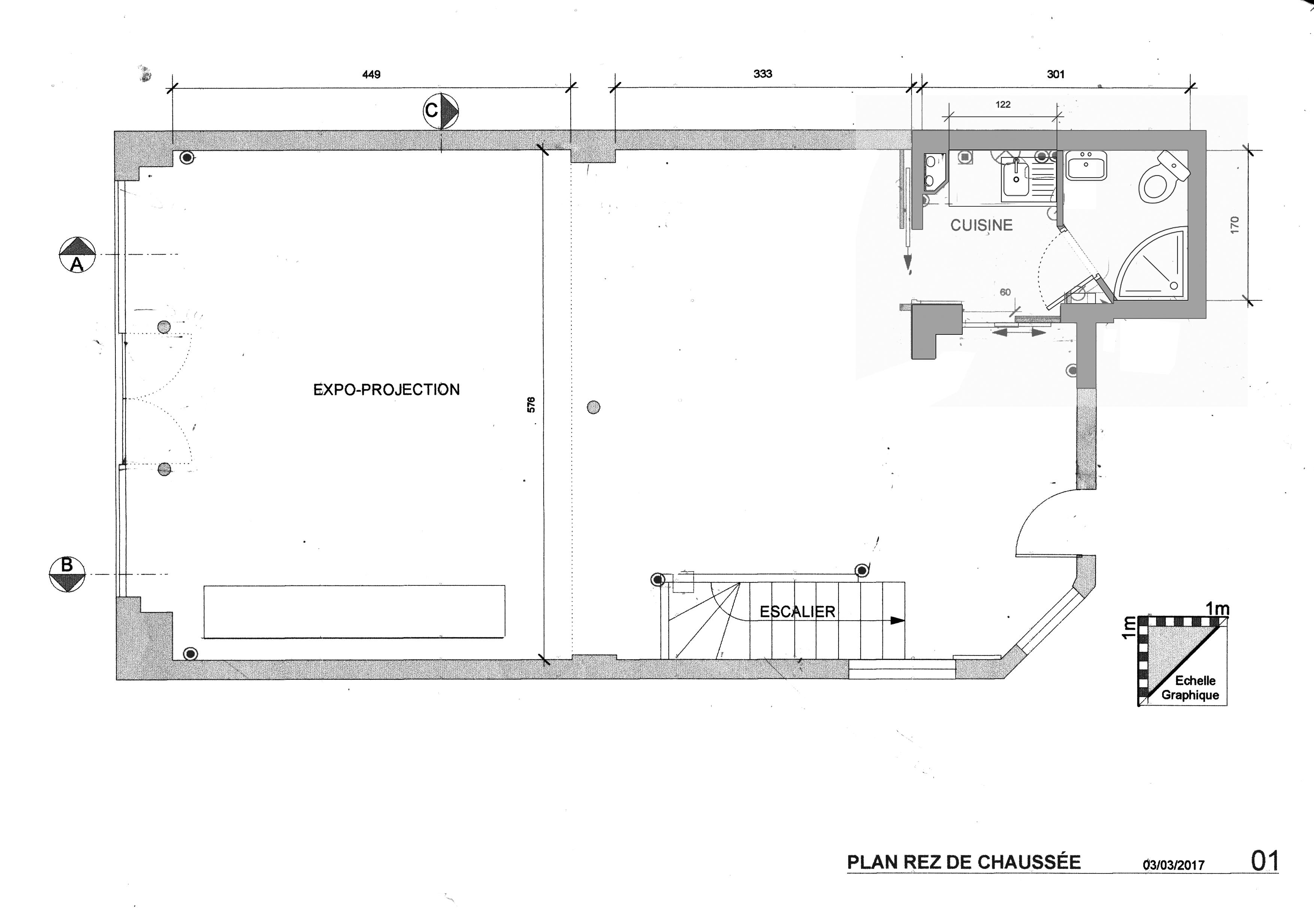 plan RdC Espace des Fabriques