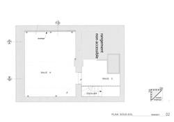 plan sous sol Espace des Fabriques