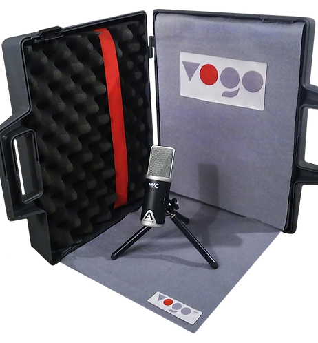 VOGO • Portable Recording Studio