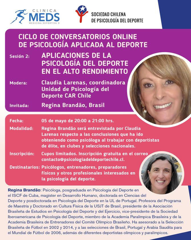 Conversatorio online: Aplicaciones de la psicología del deporte en el alto rendimiento