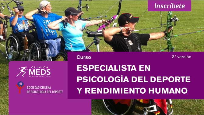 Últimas 3 plazas: Curso Especialista en psicología del deporte y rendimiento humano