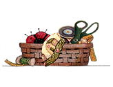 Logo Basket w-Quilt Master-white text-sm