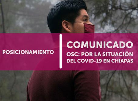 Pronunciamiento OSC: La situación por el COVID-19 en las comunidades rurales e indígenas en Chiapas