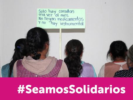 Fondo para la Paz une esfuerzos ante la COVID-19 con la campaña #SeamosSolidarios