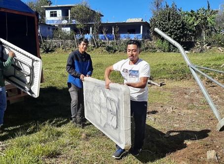 Contribuyendo a la infraestructura escolar en la Chinantla