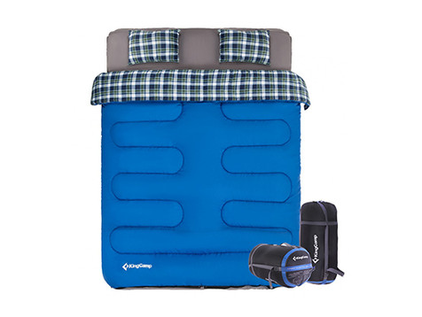 Quilted Sheet, Double Sleeping Bag & 2 P