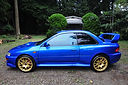 Impreza 22B Tribute by Launsport, Japan.