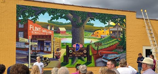 Bicentennial mural unveiled