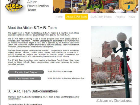 Taking S.T.A.R. Team website to the next level