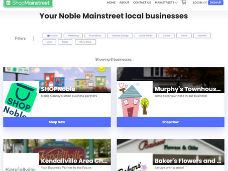 Noble Mainstreet is live!