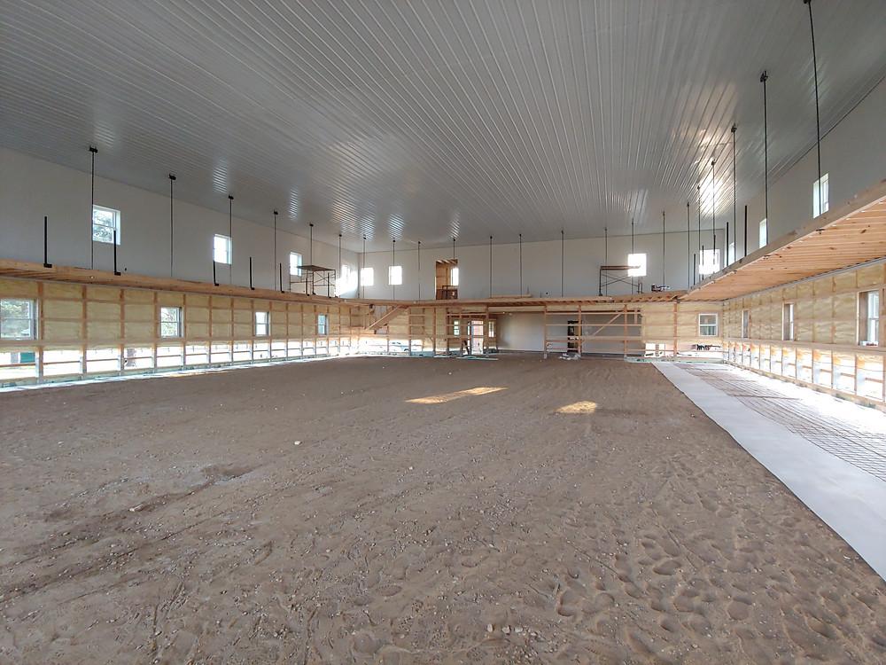 Gymnasium construction, Augusta Hills LRCC