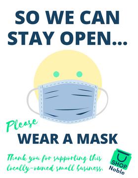 Ask for masks