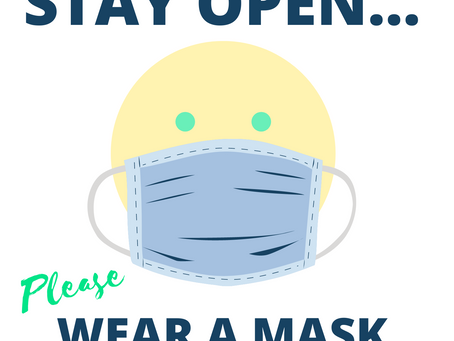 Ask for masks
