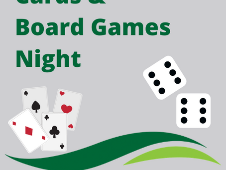 Cards & Board Games Night