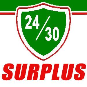 24/30 Surplus