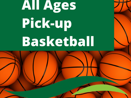 All Ages Pick-up Basketball